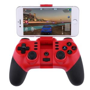 2.4G Wireless Bluetooth Game Controller With Smartphone Stand